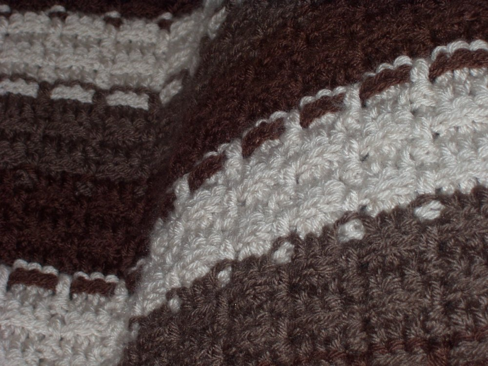 crochet:: mochachino afghan  (1/2)