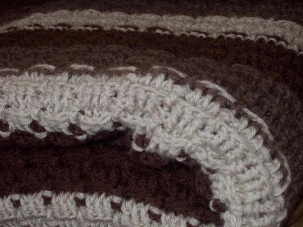 crochet:: mochachino afghan  (2/2)