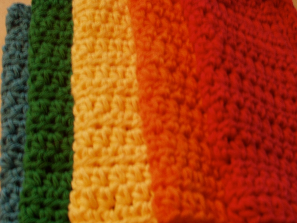 crochet:: my favorite dishcloth (4/4)