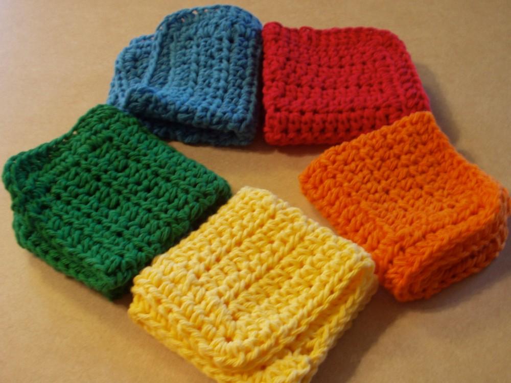 crochet:: my favorite dishcloth (1/4)