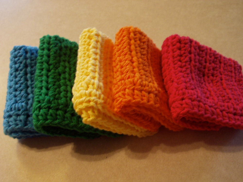 crochet:: my favorite dishcloth (3/4)