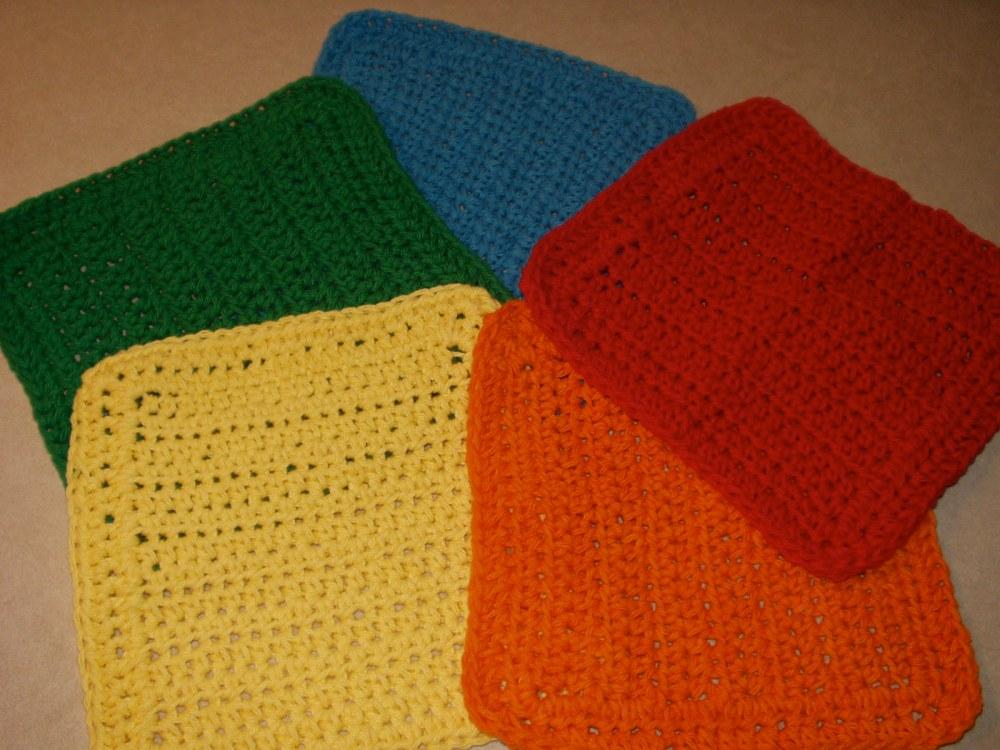 crochet:: my favorite dishcloth (2/4)