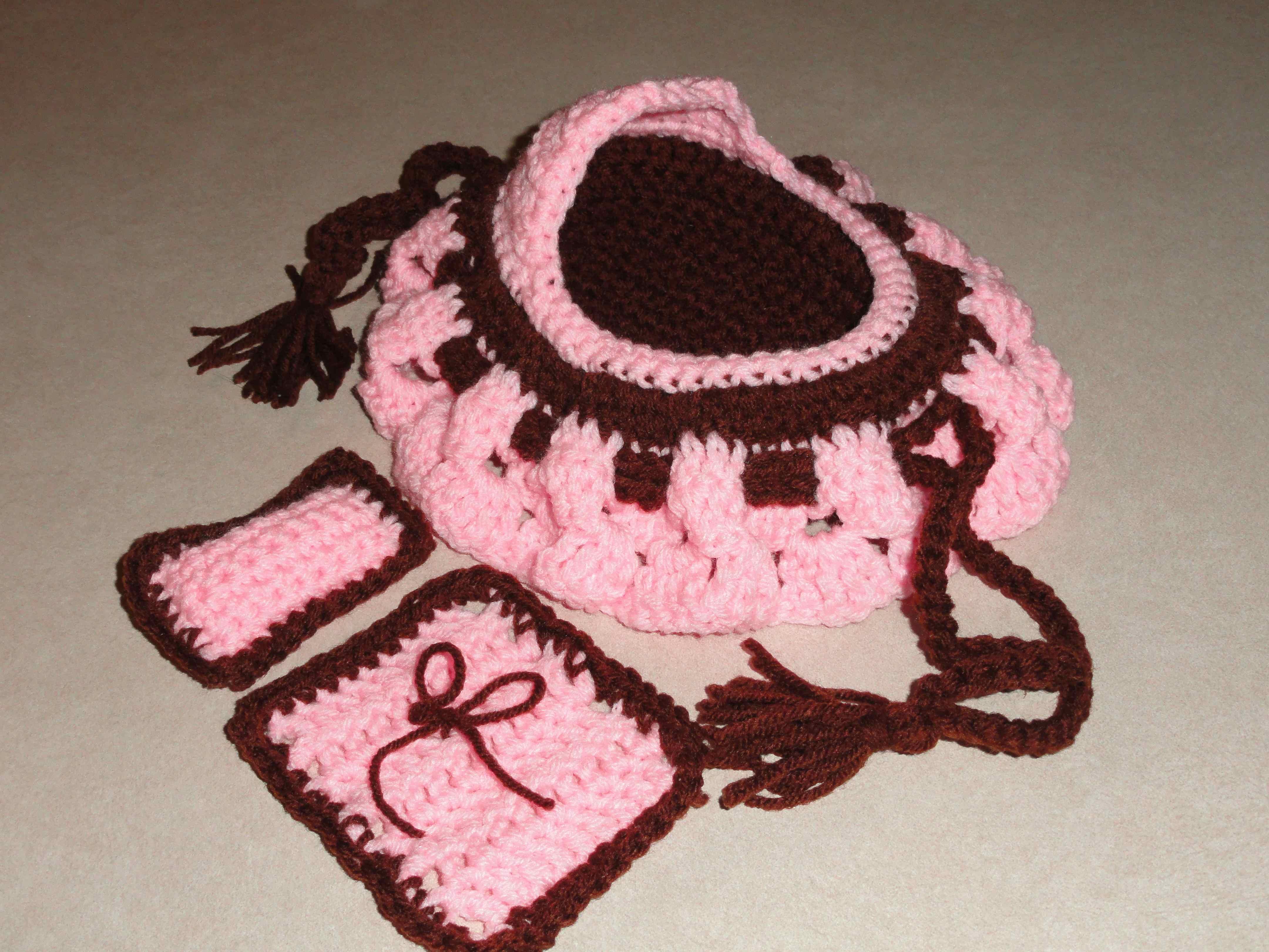 Vintage Crochet Pattern Pillow Doll Bed Doll Winter Dress | Etsy | 3240x4320