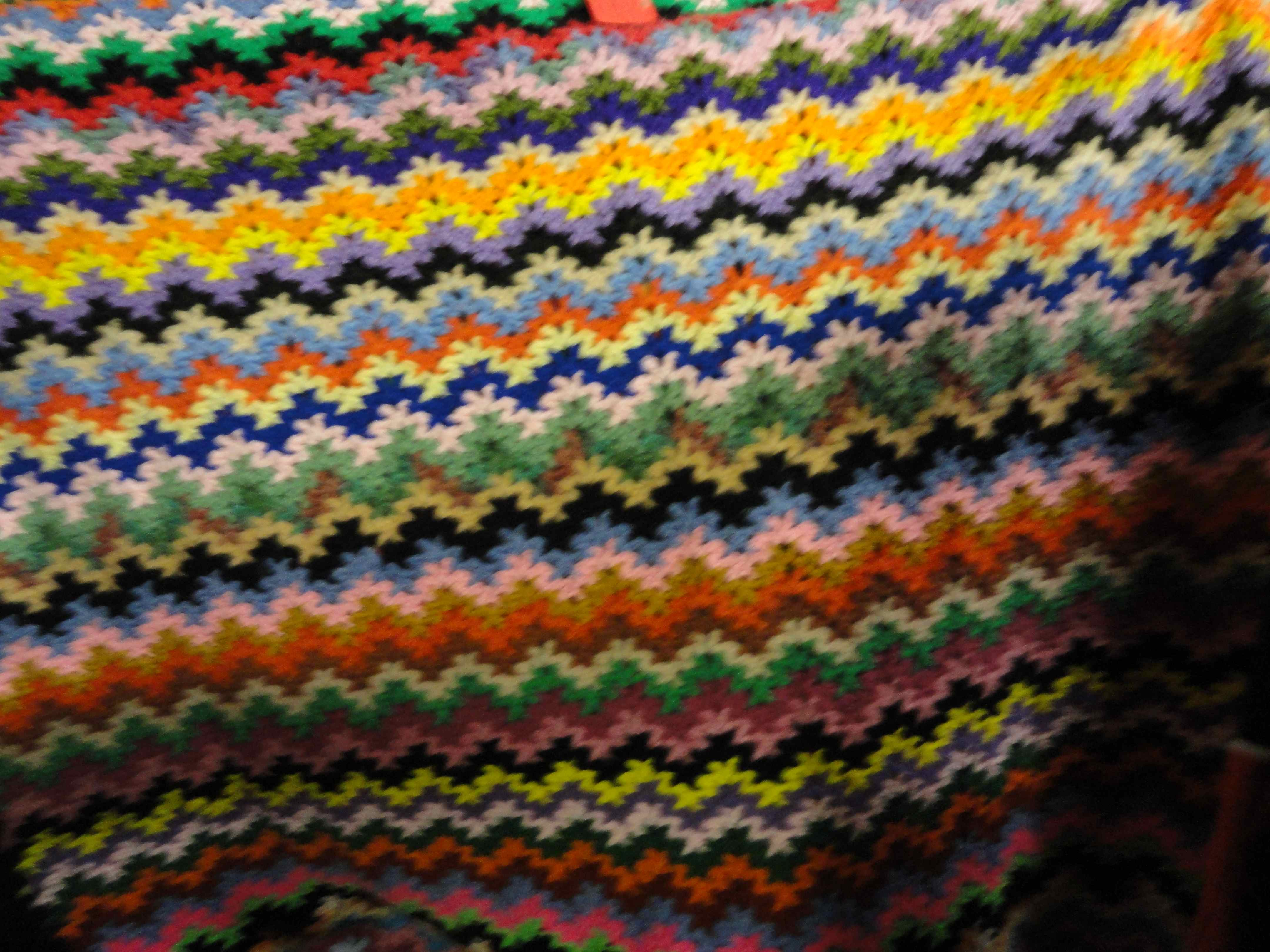 crochet:: southwestern style afghan ? yarnchick