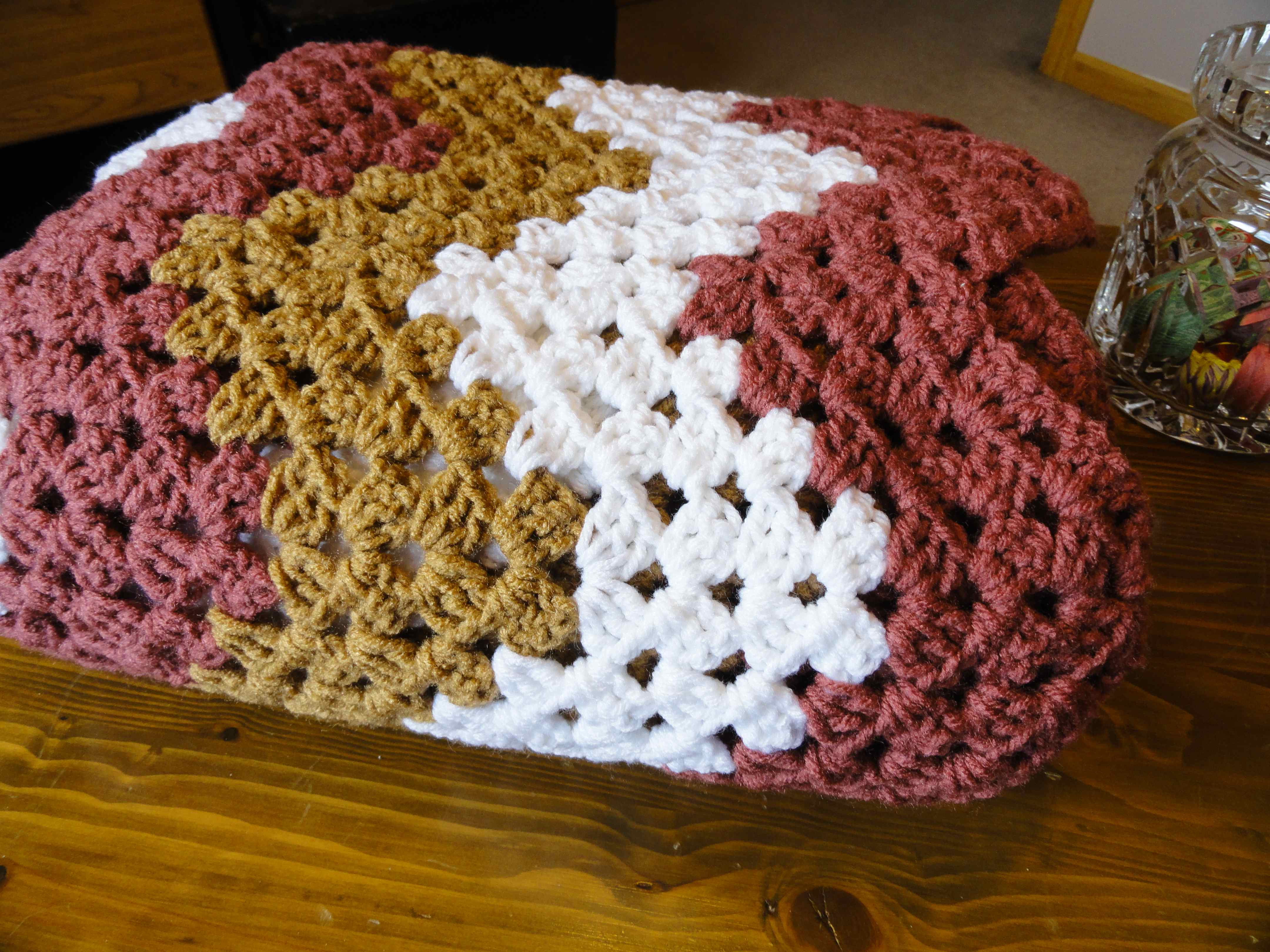 Crochet Granny Ripples Yarnchick