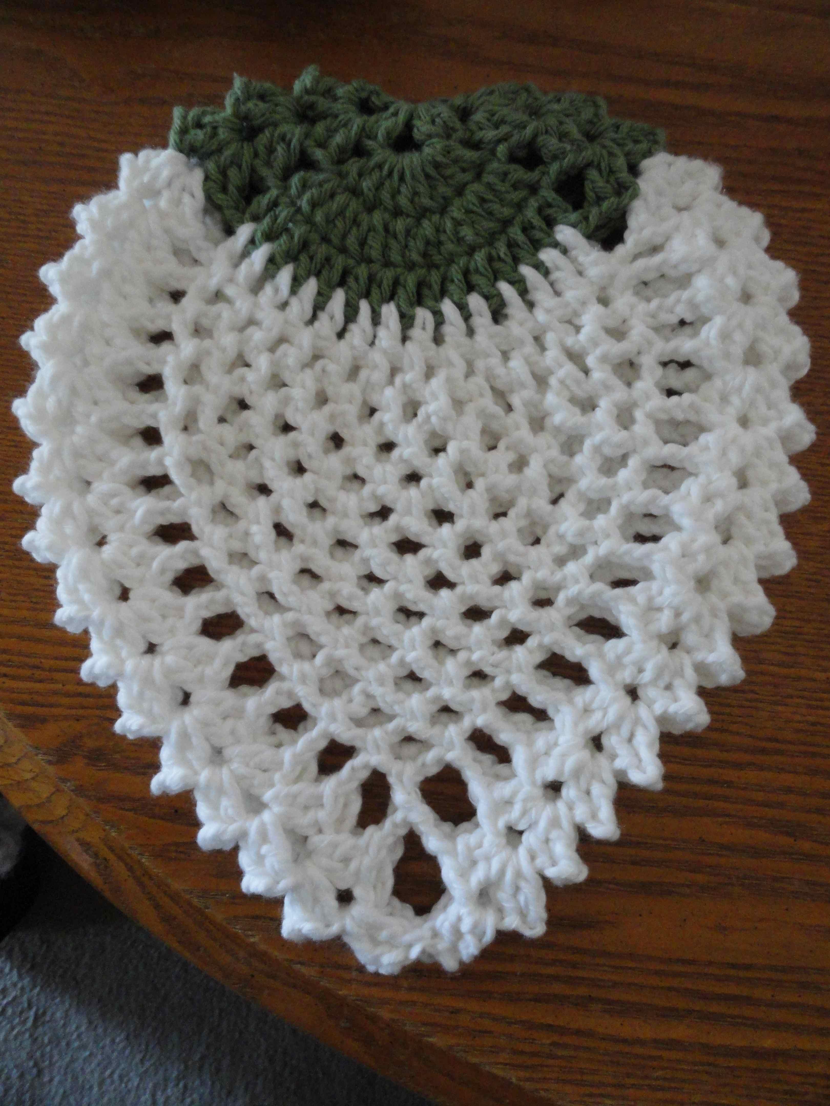 Crochet Chicken Potholder Pattern