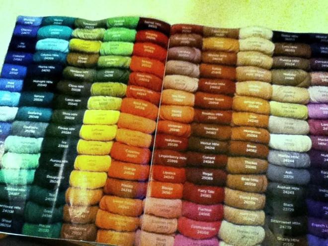 palette yarn