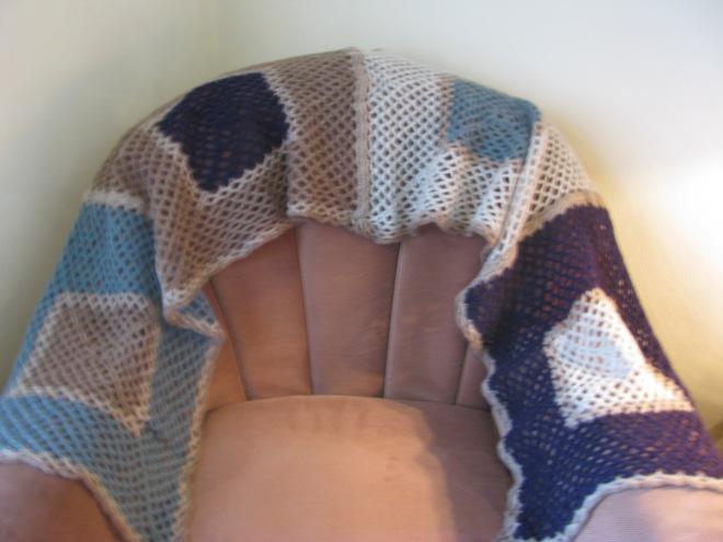 Liz's shawl