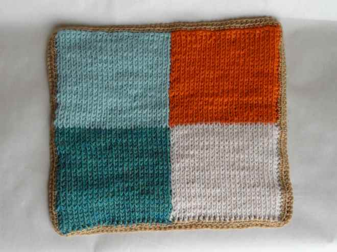 tunisian colorwork potholder 4