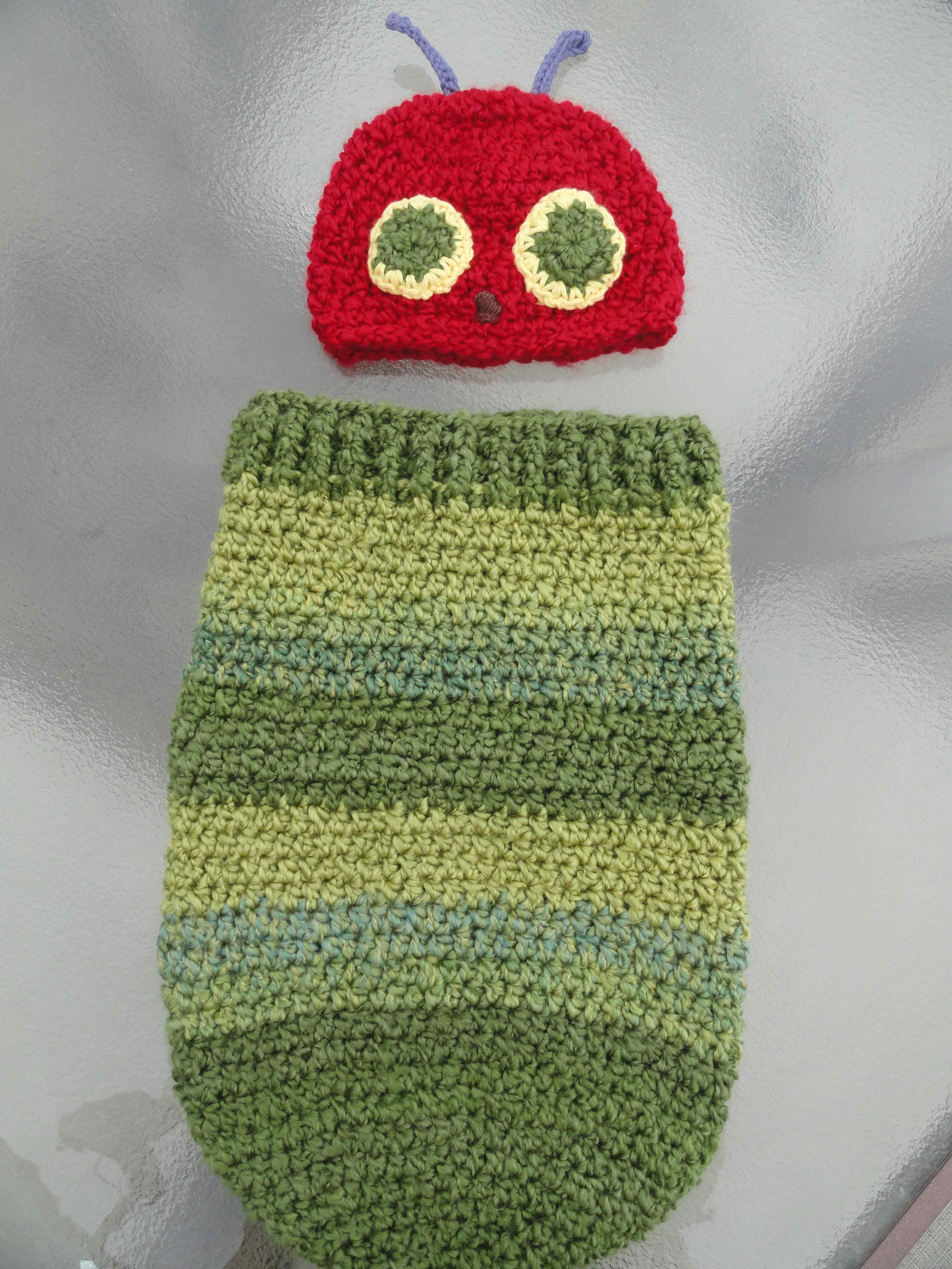 crochet:: very hungry caterpillar   yarnchick