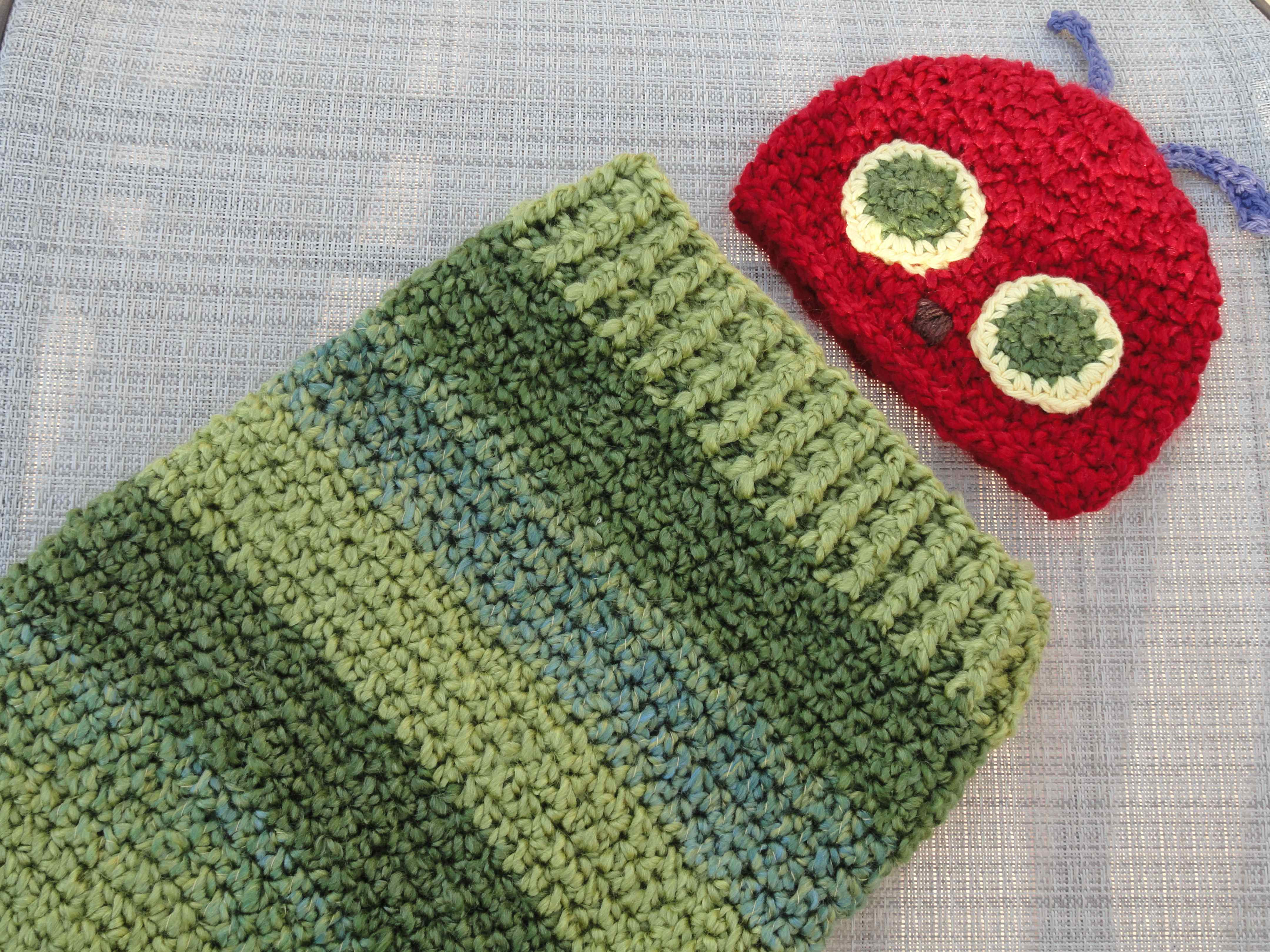 Very Hungry Caterpillar Cocoon Crochet Pattern Free ~ Dancox for .