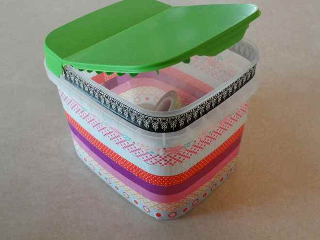 washi tape box