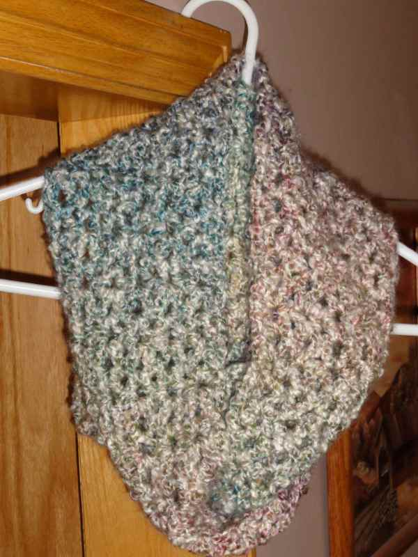 misty rainbow cowl