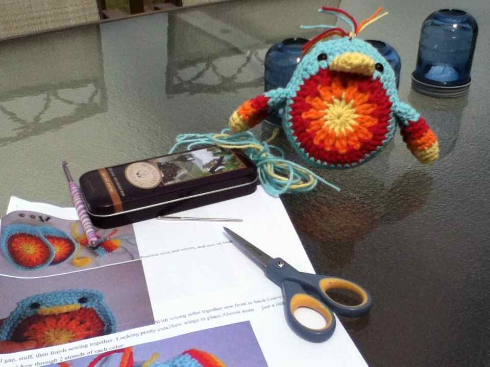 crochet:: a chickie that i adore (1/2)