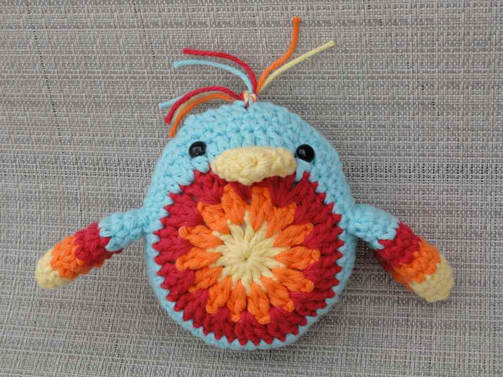 crochet:: a chickie that i adore (2/2)