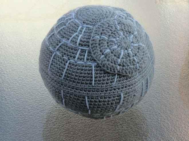 crochet death star