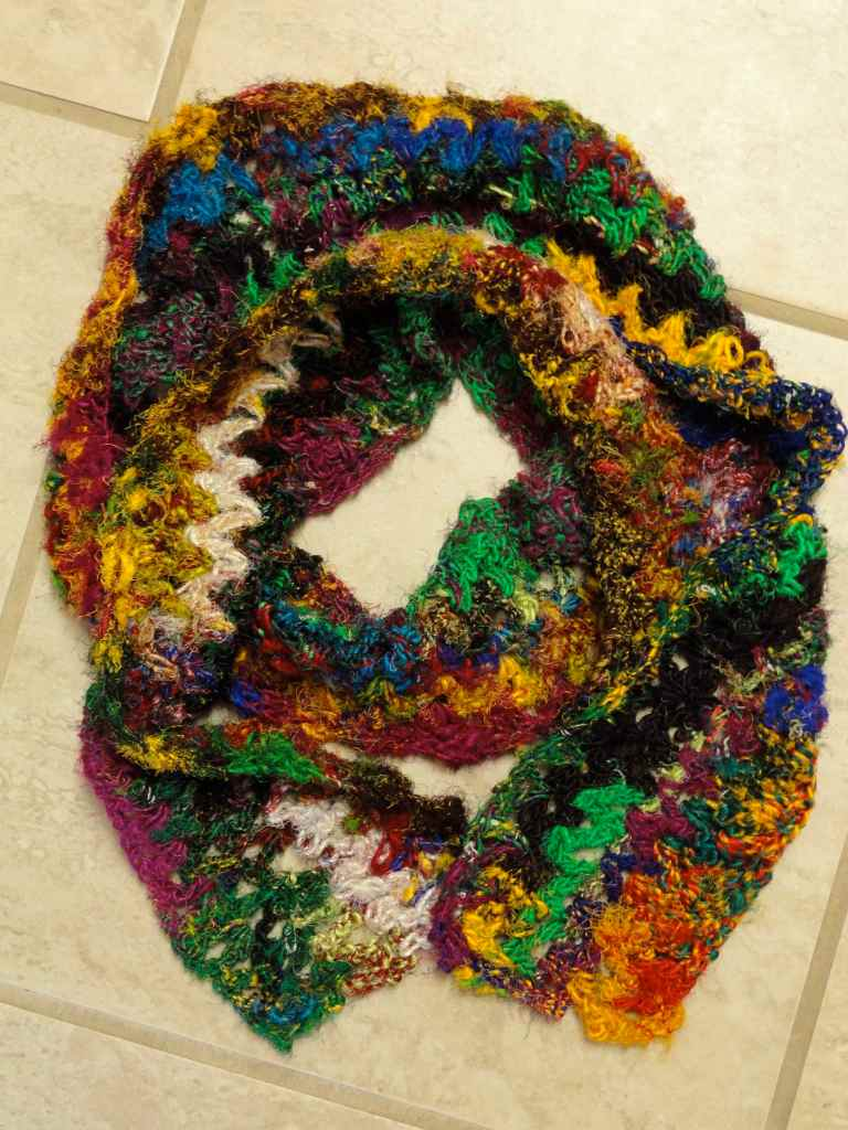 sari silk scarf 2