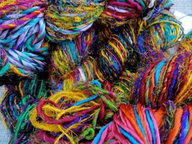 sari silk yarn 2